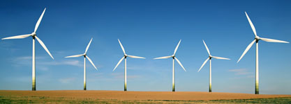 Windmills generate Green Wind Energy