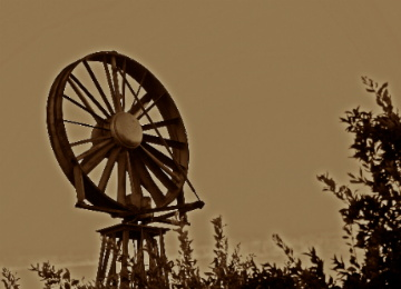 Old Wind Machine,Wind power,Windmills, Electricity